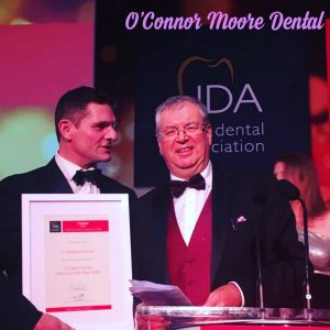 Steve with Irish Caring Dentist of the Year Finalist 2018