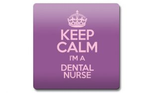 Sign 'keep calm i'm a dental nurse'