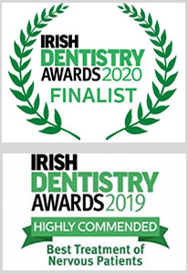 Irish Dentistry Awards logo 2019 and 2020