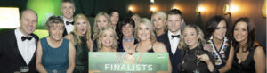 OCM Dental Practice holding Finalists Award at Irish Dentistry Awardds 2020