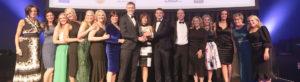OCM Dental Team receiving award for Best Treatment of Nervous Patients