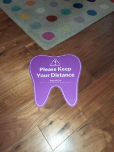 Keeping your distance at OCM Dental